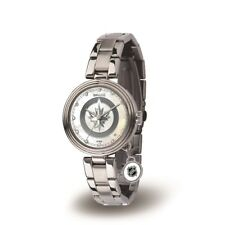 Winnipeg Jets NHL Charm Watch with Stainless Steel Band