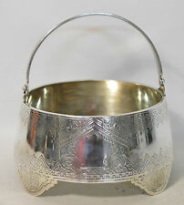 A late 19th century Russian silver sugar bowl, Moscow, probably 1882