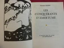 LES CONQUERANTS DE L'AMERTUME Florence Ruffin illustrations de l'auteur