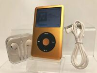 New other - Apple iPod Classic 6th Generation Black / Gold (80GB)
