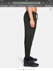 UA under armour unstoppable move tracksuit bottom SMALL 30W green SALE RRP £65