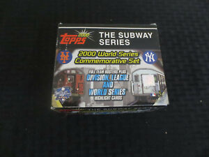 2000 Topps Subway Series Set(100) with 5 Derek Jeter cards No Coin/Token.....