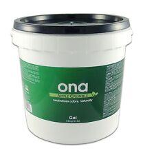 Ona Apple Crumble Gel Gallon Pail 4L  Eliminate Odor Control Neutralizing Clean