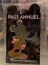 Pin Pins OE Mickey Mk Silhouette Disneyland Paris Disney