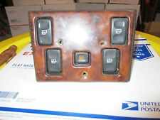 ✅ Land Rover Discovery Ii 2 Master Power Window Control Switch 5 Buttons Rear