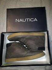 Nautica Boys Brown Breakwater Shoes Boots Size 5 SELLING TONS!!