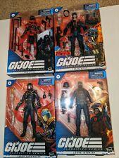 GIJoe Classified 4 Figure Lot:Viper,Trooper ,C.Commander, Red Ninja. New!!!