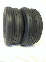 2-  11x4.00-5 SMOOTH RIB LAWN MOWER TRACTOR GO KART Lawnmower Tires