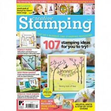 CREATIVE STAMPING MAGAZINE ISSUE 55 + FREE VERSATILE STAMPS BY CHLOE STAMP SET