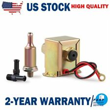 Electric Fuel Pump 12 volt Solid State 2.5 to 4psi 90LPH Petrol Facet Universal