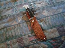 Handmade Custom Leather Sheath for Buck 119, 120, and 124 Can do other knives
