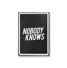 One Ways Playing Cards by NOBODY KNOWS