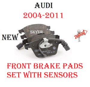 Front Disc Brake Pad Set For 2004-2011 Audi A4, A6, S4, Quattro Models GENUINE