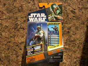 SEALED Star Wars Saga Legends BOBA FETT SL30 Action Figure Galactic Battle Game