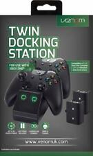 Xbox One Twin Docking Station+ 2 x Rechargeable Battery Packs - Black (XBOX ONE)