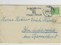 German Postal History Stamps Cover Ref: R4669