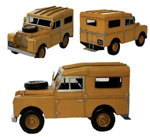 1964 Land Rover Civil Defence Land Rover Defender Tin Plate Model Ornament