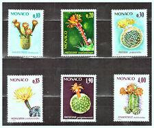 "MONACO: 1974 Sc: MC 955 - 960 ""Rare Plants of the Botanical Garden"" MLH Set"