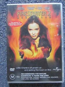 DVD FIRESTARTER 2 REKINDLED   GREAT    *** MUST SEE ****