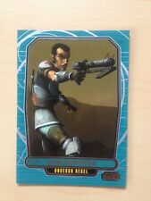 2013 Star Wars Galactic Files 2 # 572 Saw Gerrera Topps Cards