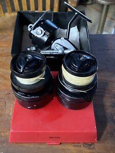 Vintage Garcia Mitchell 300 Left Handed Spinning Reel, Made in France