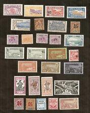 TOM : lot de 29 timbres neufs sans trace de charnière, très très beaux,cote 82€