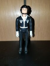 "Laser Force Black Suit Pilot 2.5"" Action Figure 1983 Gay Toys Vintage 80's"