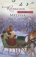 Rescued By The Magic Of Christmas-ExLibrary