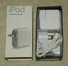 Genuine Apple iPod USB A/C Power Adapter M9837LL/A Wall Charger