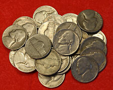 1941-P JEFFERSON NICKEL ROLL (40 COINS) CIRCULATED NICE COINS CHECK OUT STORE