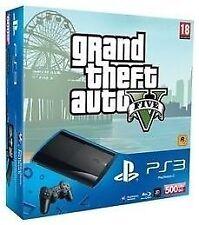 Consoles de jeux vidéo noirs pour Sony PlayStation 3 avec un disque dur de 500 Go