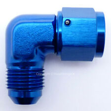 AN -6 AN6 JIC 90 Degree MALE to FEMALE Forged Elbow Hose Fitting Adapter