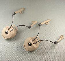 FMA DE PT Headset Adapter Set For Comtac OPS CORE Style Helmet Rail M347