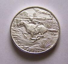 1 oz Silver Round - Pony Express