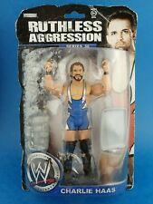 Unopened Wresting Figure WWE - CHARLIE HAAS Wrestler 2008 Jakks / Packaging Worn