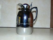 Vintage Alfi Insulated Vacuum Carafe Chrome Plated .75 Liter Germany