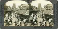 India ~ MADURA ~ Lower Caste Poor Street People Stereoview 12526 T514 19567 fx