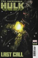 The Incredible Hulk Comic Issue 1 Last Call Limited Variant Modern Age 2019