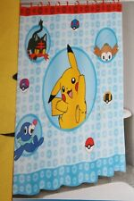 Pokemon Shower Curtain Brand New in package! Licensed Pikachu Meowth Ball