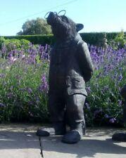 Badger Garden Ornament (Riverbank collection) Bronze Effect Finish.