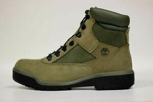"Timberland Men's 6"" Waterproof Field Boots NEW AUTHENTIC LT Green A1RBP N77 SZ10"