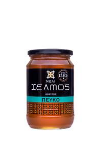 Honig HELMOS 100% griechischer Kiefern aus Evia 950gr Pine Honey