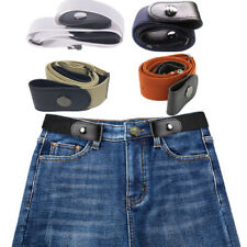 Buckle-free Elastic Adjustable Invisible Belt No Bulge Hassle Men's Women Jeans
