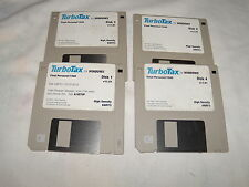 "TurboTax for Windows Final Personal /1040 - 3.5"" floppy disks"