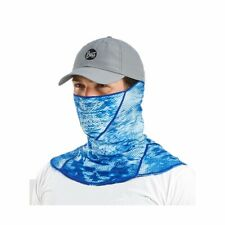 Buff UVX Face Fishing Sun Mask - UPF 50+ - Pelagic Camo  -Pick Color Free Ship