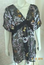 TOGETHER BUTTERFLY BAT WING TUNIC SZE LARGE, 14/16/18 RRP £65 BNWT