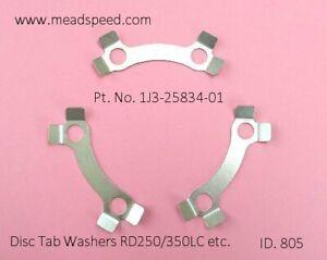 1J3-25834-01-00, Yamaha Disc Washers, LC350, Virago, XJ550, XS750, XS850,XS1100