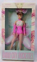 RARE Radio City ROCKETTES 1998 Doll Stand NYC LTD Minnelli Pink Costume NEW Box