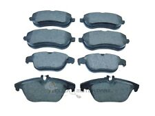 MERCEDES C220 CDi W204 SALOON 2007-2011 FRONT AND REAR BRAKE DISC PADS NEW SET