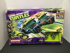 Carrera Go Teenage Mutant Ninja Turtle 2 Car/Trike Slot Race System 62196, NIOB